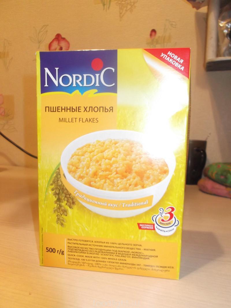 Nordic. Пшенные хлопья graphic