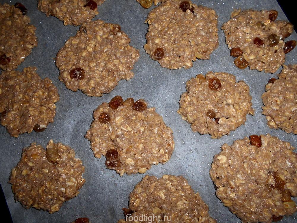 Овсяное печенье без муки graphic