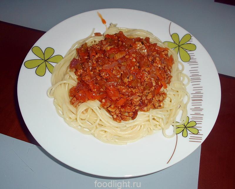 Спагетти болоньезе graphic